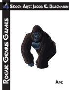 Stock Art: Blackmon Ape