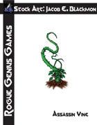 Stock Art: Blackmon Assassin Vine