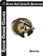 Stock Art: Blackmon Badger