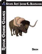 Stock Art: Blackmon Bison