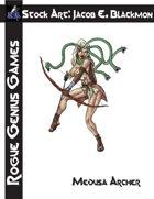 Stock Art: Blackmon Medusa Archer