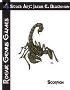 Stock Art: Blackmon Scorpion