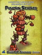 Monster Menagerie Seasonal Stars: Pumpkin Stalker