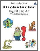 Clip Art by Stan! Vol. 1: Sampler