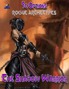 5e Options: Rogue Archetypes - Shadow Warrior