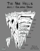 Nine Hells Adult Coloring Book