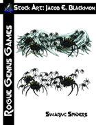 Stock Art: Blackmon Spider Swarm