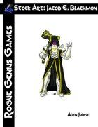 Stock Art: Blackmon Alien Judge