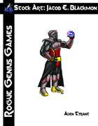 Stock Art: Blackmon Alien Tyrant