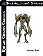 Stock Art: Blackmon Armored Alien