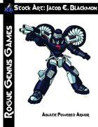 Stock Art: Blackmon Aquatic Powered Armor