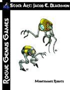 Stock Art: Blackmon Maintenance Robots