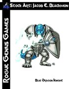 Stock Art: Blackmon Blue Dragon Knight