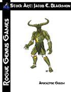 Stock Art: Blackmon Apocalypse Golem
