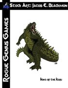 Stock Art: Blackmon King of the Kaiju