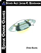 Stock Art: Blackmon Flying Saucer