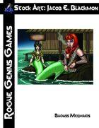 Stock Art: Blackmon Badass Mermaids