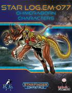 Star Log.EM-077: Chimeraborn Characters