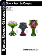 Stock Art: Courts Three Goblets 02