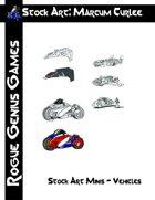 Stock Art: Curlee Stock Art Minis - Vehicles