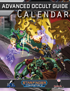 Advanced Occult Guide Calendar