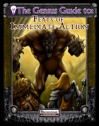 The Genius Guide to Feats of Immediate Action