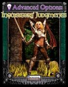 Advanced Options: Inquisitors' Judgements