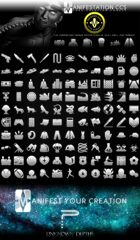 Modern Era Game Icons Set - Modern Age (Icon Series I)