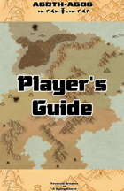 Agoth-Agog Player's Guide