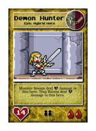 Demon Hunter - Custom Card