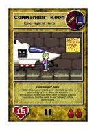 Commander Keen - Custom Card