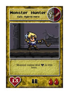 Monster Hunter - Custom Card