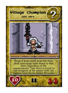 Village Champion - Custom Card