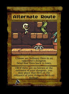 Alternate Route - Custom Card