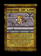 Anything For Love - Custom Card