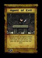 Agent Of Evil - Custom Card