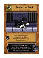 Archer & Tank - Custom Card