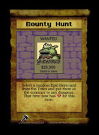 Bounty Hunt - Custom Card