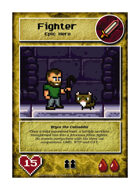 Bryce The Catladdie - Custom Card
