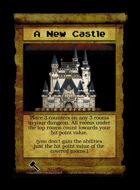 A New Castle - Custom Card