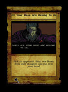 All Your Base Are Belong To Us - Custom Card
