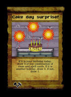 Cake Day Surprise! - Custom Card