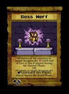 Boss Nerf - Custom Card