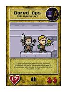 Bored Ops - Custom Card