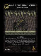 Bolehs The Great Spider - Custom Card