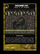 Araneae - Custom Card