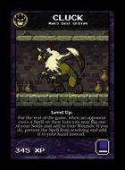 Cluck - Custom Card