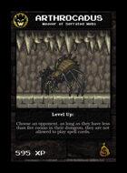 Arthrocadus - Custom Card
