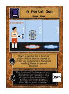 A Portal Gun - Custom Card