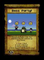 Boss Party! - Custom Card